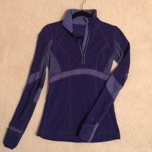 Lululemon purple long sleeve